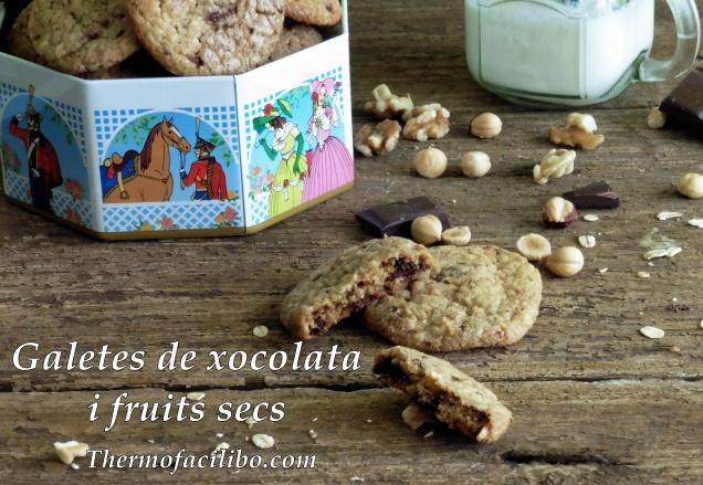 Galetes de xocolata i fruits secs.2