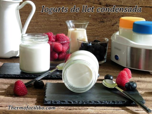 Iogurts de llet condensada +