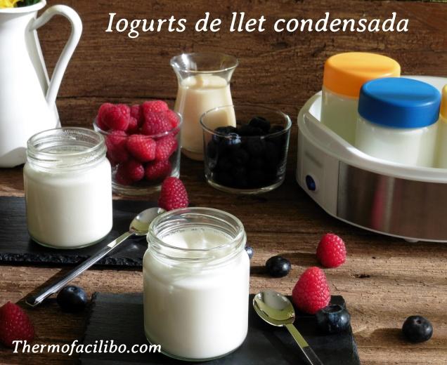 Iogurts de llet condensada.1+