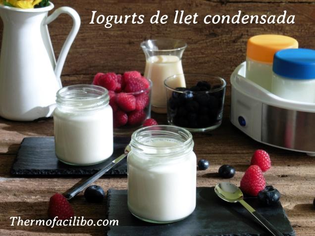 Iogurts de llet condensada.2
