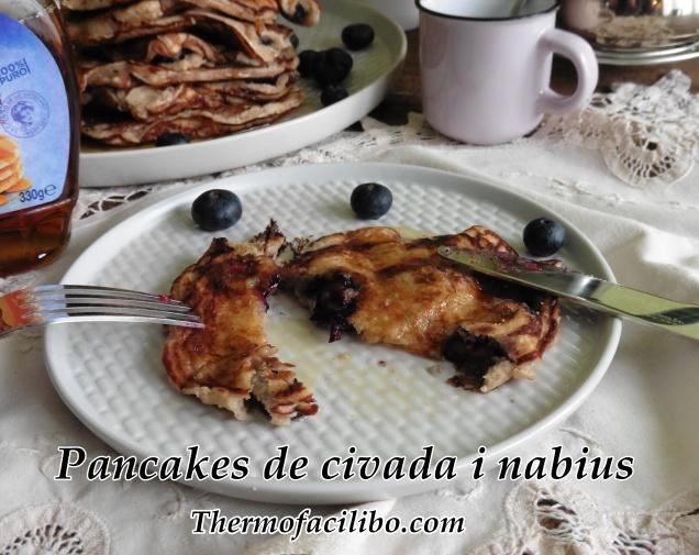 Pancakes de civada i nabius