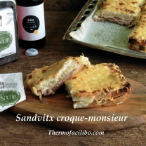 Sandvitx croque-monsieur