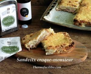 Sandvitx croque-monsieur