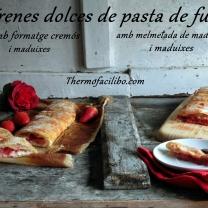 trenes-dolces-de-pasta-de-full-amb-maduixes